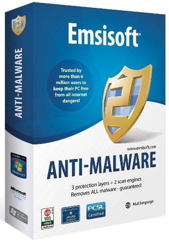 Emsisoft Anti-Malware 9.0 - бесплатный лицензионный антивирус
