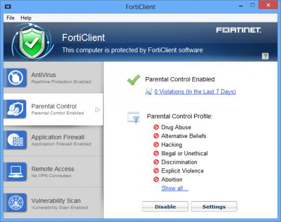 forticlient бесплатно скачать антивирус