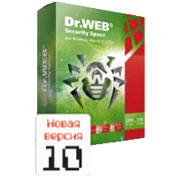Dr.Web Security Space 10