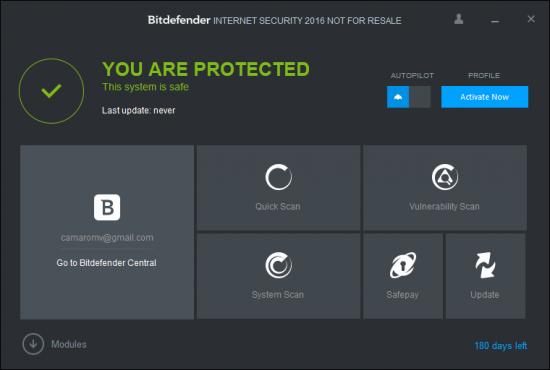 битдефендер интернет секьюрити на 180 дней