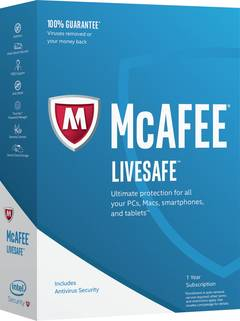 McAfee Cloud  - бесплатный облачный антивирус Макафи для Windows 10